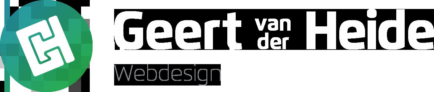 Geert van der Heide Webdesign